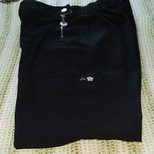 Koi black scrubs